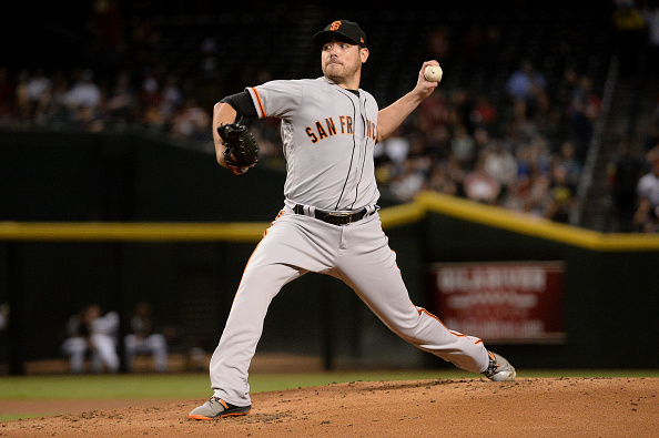 Giants Trade Starting Pitcher to Texas
