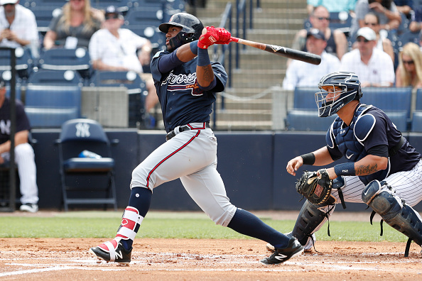 Acuna singles, scores in Major League Baseball  debut, Braves beat Reds