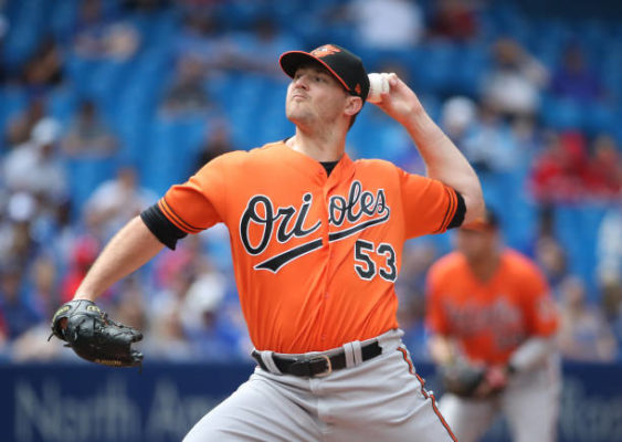 Yankees and Orioles finalize deal to send Zach Britton to NY