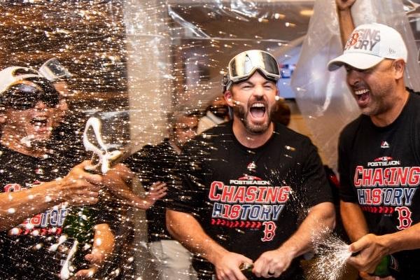 Boston Red Sox Advance to 2018 ALCS