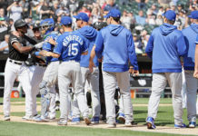 Chicago White Sox Kansas City Royals Brawl