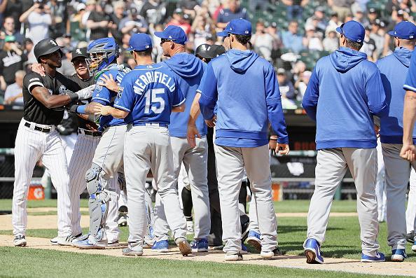 Chicago White Sox Kansas City Royals Brawl