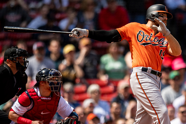 Chris Davis Hitless Streak Finally Over - Last Word on Baseball