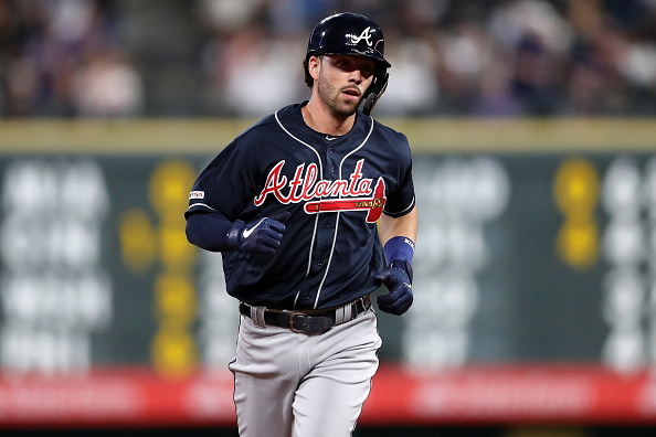 hot sale online f3e89 279be Atlanta Braves Shortstop Dansby Swanson Looking to Build off ...