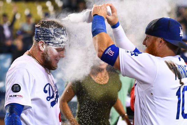 on sale 33f7b 71446 Los Angeles Dodgers World Series Favorites Entering June