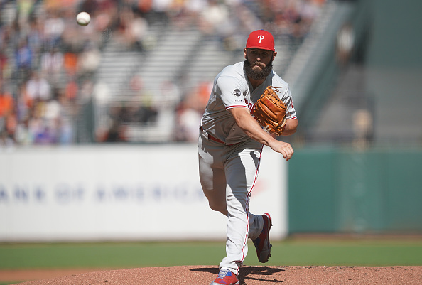 low priced 8c457 a1358 Philadelphia Phillies' Jake Arrieta Likely Done For The Year -
