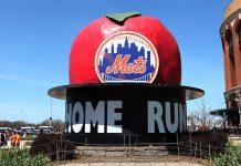New York Mets HR Apple