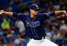 Charlie Morton Tampa Bay Rays vs Oakland Athletics