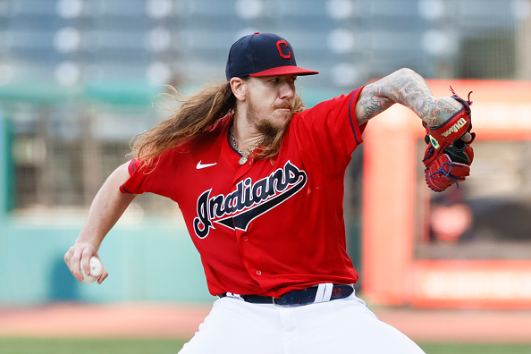 Zack Plesac Mike Clevinger