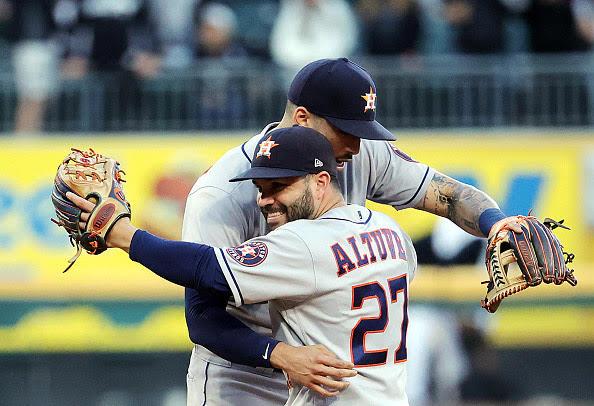Los Astros superan a los Medias Blancas y avanzan a la ALCS