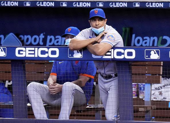 Luis Rojas fuera como gerente de los Mets