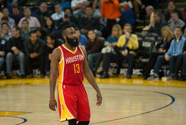 5265c88005cf James Harden Houston Rockets (Photo by Mark Downey Lucid Images Corbis via  Getty Images). The NBA MVP race ...