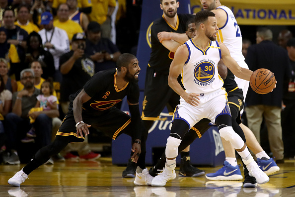 db960a8f1152 Golden State Warriors Beat Cleveland Cavaliers in NBA Finals Game 2 - Last  Word on Pro Basketball