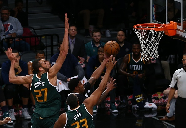 Jazz lose Rudy Gobert to left knee injury
