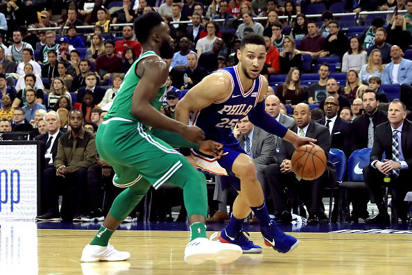 Jaylen Brown and Ben Simmons