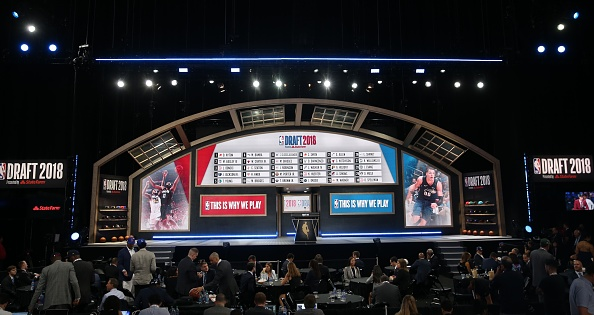 NBA Draft stage