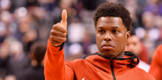 Kyle Lowry is pleased with a Game 3 win.