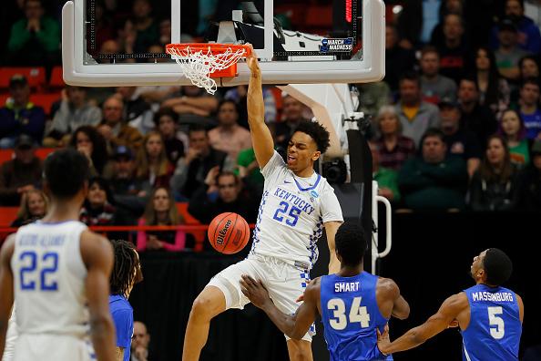 PJ Washington Throwing a dunk down