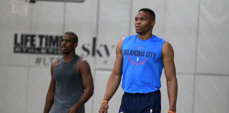 Russell Westbrook and Chris Paul have been traded for each other