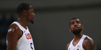 Kevin Durant and Kyrie Irving Join the Brooklyn Nets