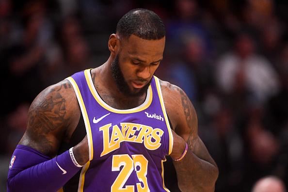 Los angeles Lakers lineup