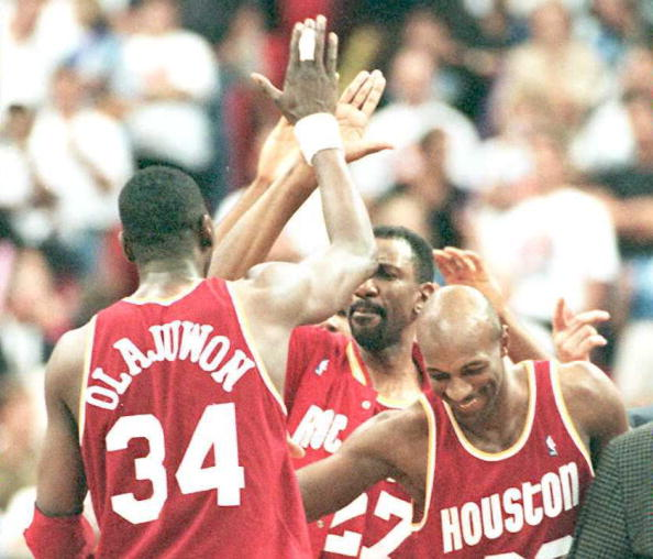 Houston Rockets All-Time Team