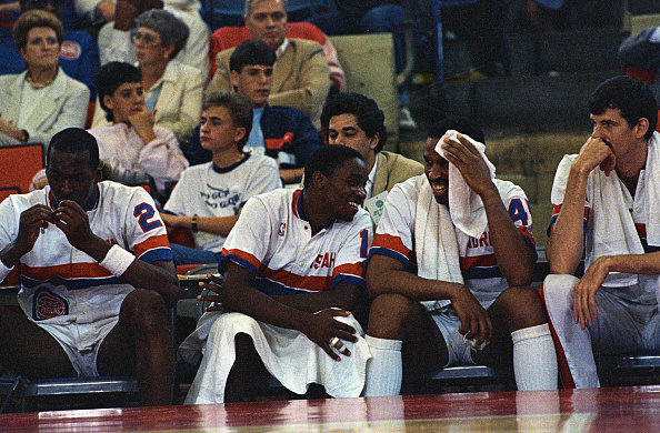 Detroit Pistons All-Time Team