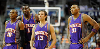Phoenix Suns All-Time Team