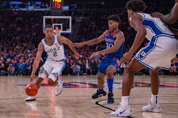NCAA Basketball stock up stock down