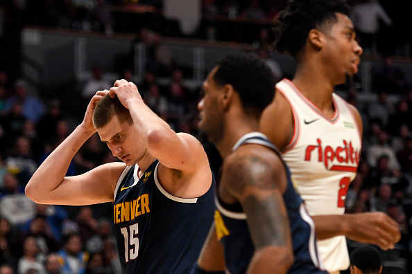 Denver Nuggets struggling