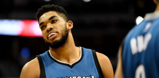 Golden State Warriors Karl-Anthony Towns