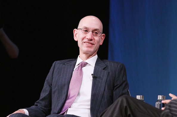 Adam Silver would like the NBA to capitalize on online wagering