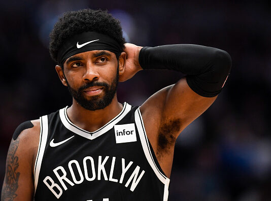 Brooklyn Nets' Kyrie Irving