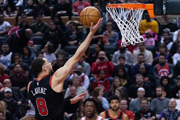 Chicago Bulls Zach LaVine