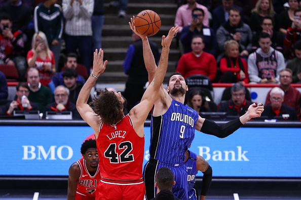 The Orlando Magic have traded Nikola Vucevic andAl-Farouq Aminu to the Chicago Bulls forOtto Porter, Wendell Carter, and two draft picks.