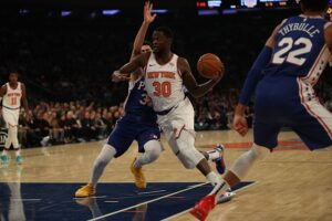 Knicks playoff loss