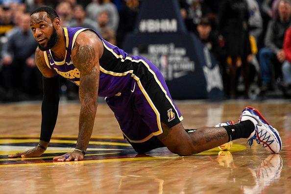 LeBron James calls out the NBA for the high volume of injuries happening the postseason.