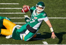 Saskatchewan Roughriders Quarterback