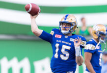 blue bombers quarterbacks
