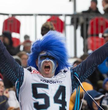 Toronto Argonauts fan