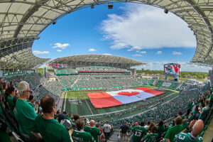 Mosaic Stadium in Regina