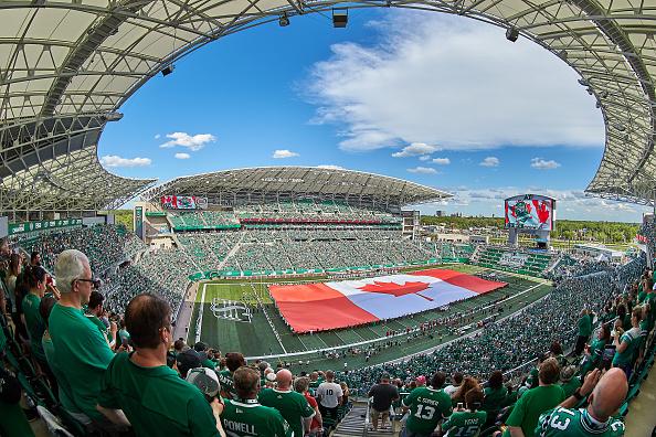 Mosaic Stadium in Regina