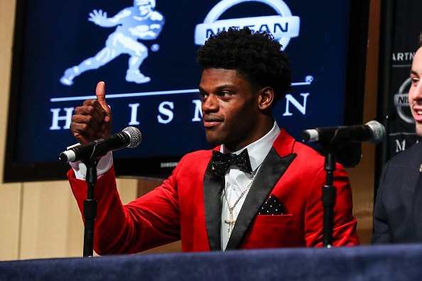 Lamar Jackson Wins Heisman
