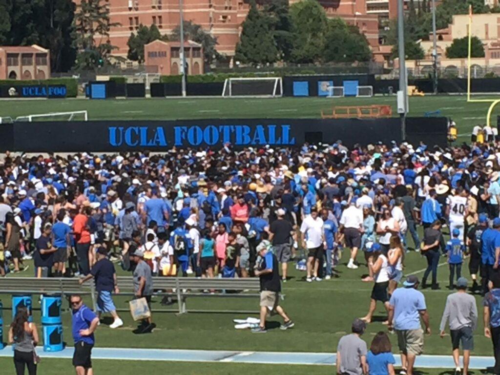 UCLA Spring Scrimmage