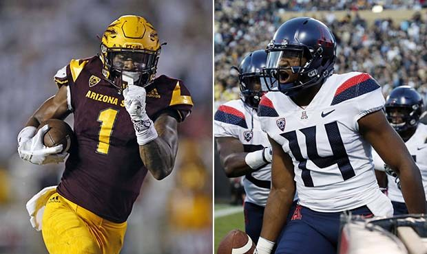 online retailer 6160f 83b21 Arizona and ASU Football; Dueling Directions in the Desert ...