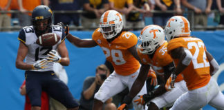Tennessee Vols Game Grades West Virginia