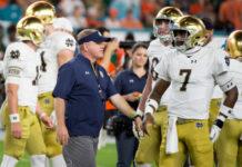 Notre Dame Football Depth Chart battle