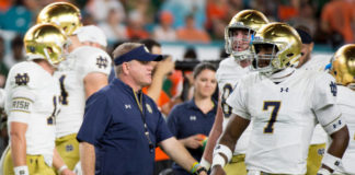 Notre Dame Football Depth Chart battle