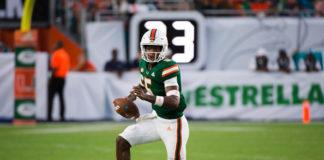 Miami Hurricanes Freshman On Display