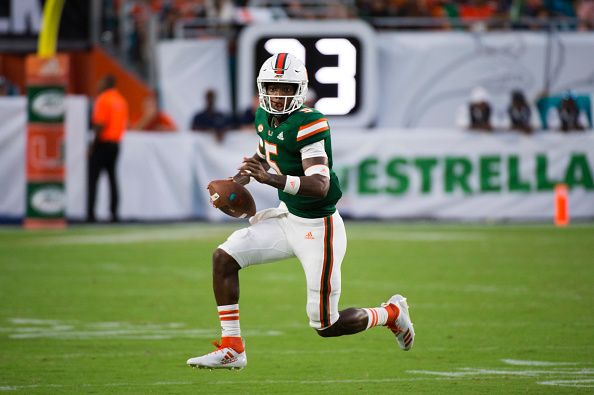 Miami Hurricanes Freshman On Display